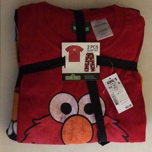 Other - Sesame Street Tickle Me Elmo 2 Piece Pajama Set